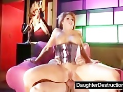 extreme legal age teenager daughter destruction