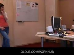 juvenile secretary seduces her old boss