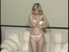 1223-0 klara undresses and acquires spanked