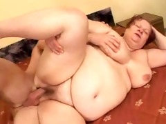 big beautiful woman grannie copulates with