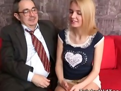 pervy old teacher acquires it on with the pretty