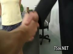 fragile girl survives double penetration