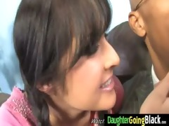 taut youthful teen takes big dark wang 30