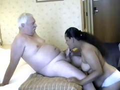 dad with indian honeys