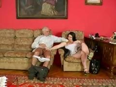 bulky wife fucking grandpa by snahbrandy