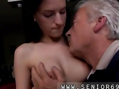 lascivious senior bruce spots a precious dame