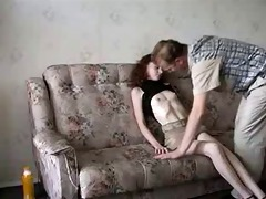 slim legal age teenager drilled