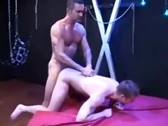 hung dad lito raw bonks and fists younger cum