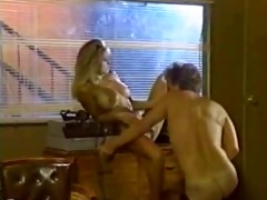 old school golden-haired playgirl fucks boy