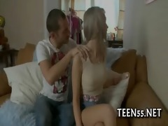 provoking legal age teenager acquires on her knees