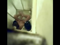 caught not my sister fingering in shower. hidden