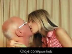 sexy youthful cutie gina fucking wrinkled grandad