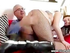 favourable old dude copulates juvenile twat