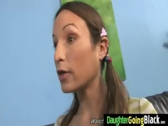 juvenile daughter with wonderful a-hole drilled