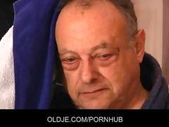 old unattractive fellow fuck stunning juvenile