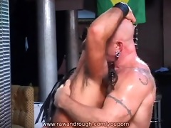 aaron receives flogged and jake acquires drilled
