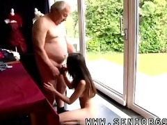lustful senior bruce spots a fascinating cutie