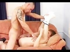 brit daddy copulates his lad